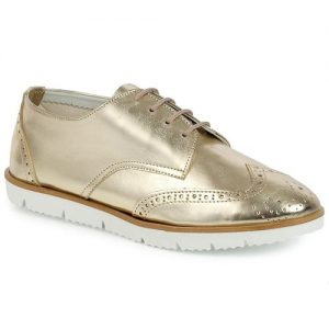 Loafers σε brogues style Χρυσό