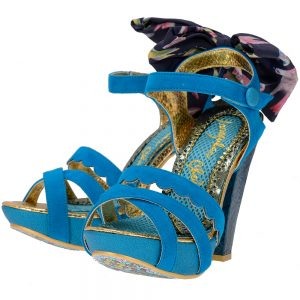 Irregular Choice - Irregular Choice BOW_BANANAS - ΜΠΛΕ