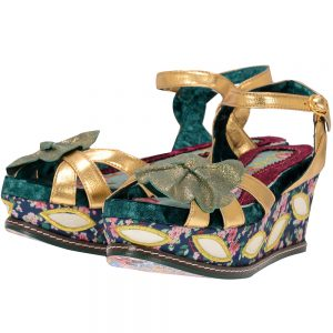Irregular Choice - Irregular Choice FLOWER_BUD. - ΧΡΥΣΟ