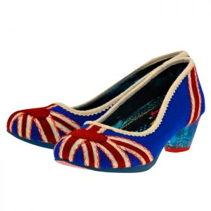 Irregular Choice - Irregular Choice POSIE.. - ΜΠΛΕ/ΚΟΚΚΙΝΟ